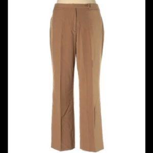 Vintage Focus 2000 dark brown dress trousers
